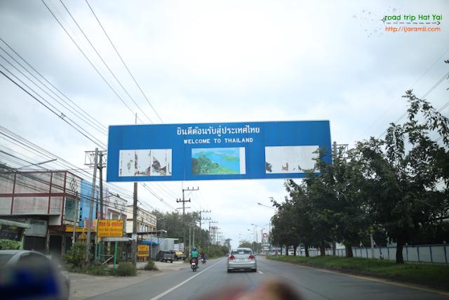 Pengalaman Road Trip Ke Floating Market Hat Yai, Thailand Dengan Kereta