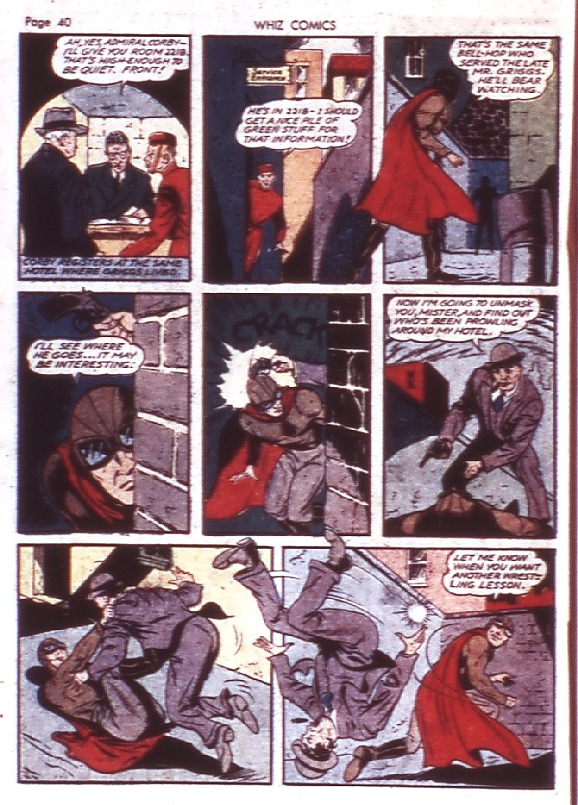 WHIZ Comics issue 23 - Page 42