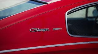 1966 Dodge Charger Hemi Emblem