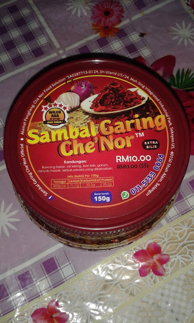 Sambal Garing Che Nor Memang Best