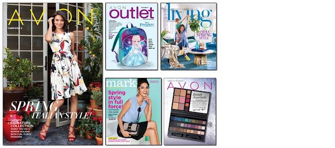 Avon Campaign 8 becomes active online to shop on 3/18/17 - 3/31/17. Click on image or here >>>
