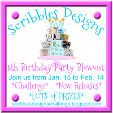 Scribbles Designs 5th Birthday Party Blowout