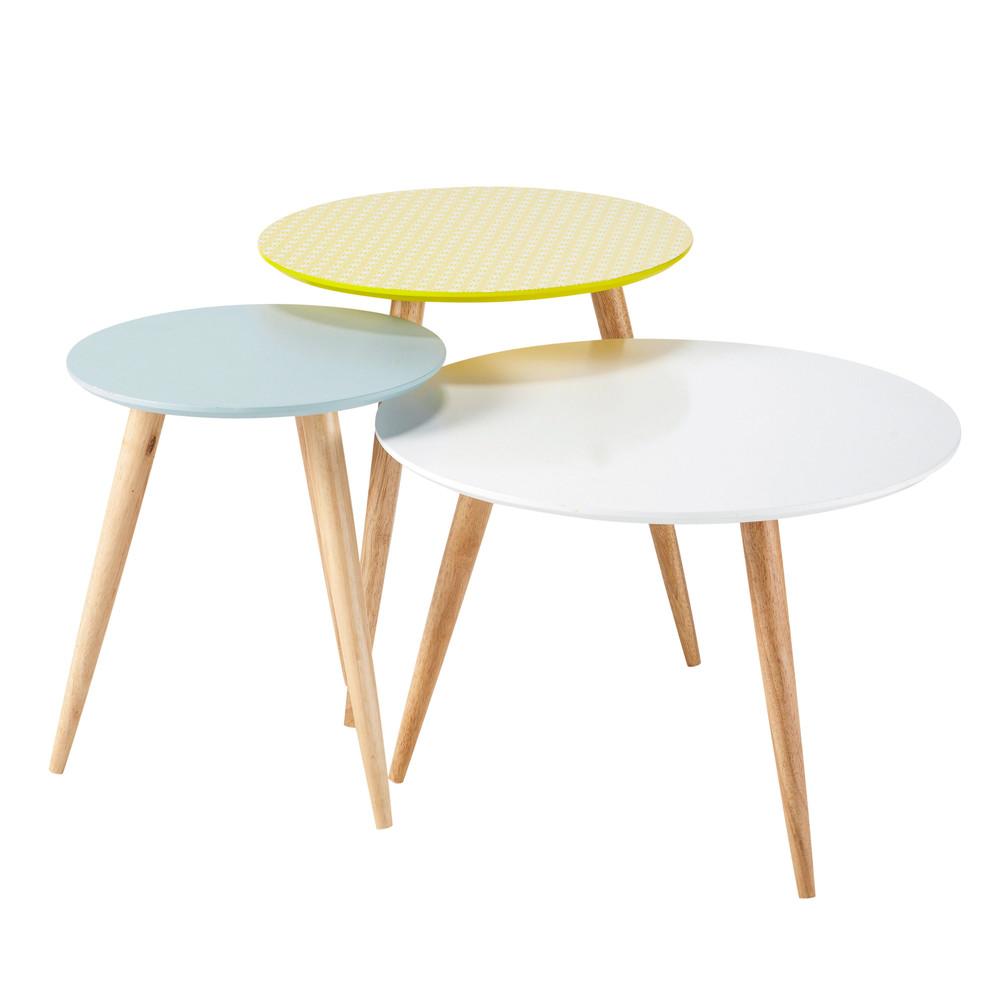 Tables gigognes vintage scandinave - Maison du Monde -