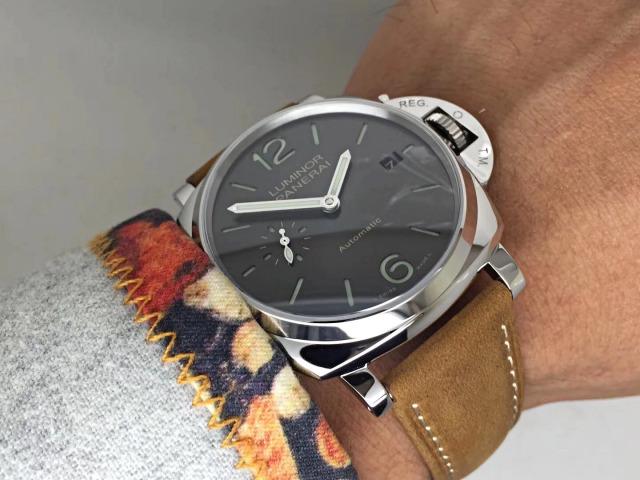 7d518a23bf5 Super Réplica de reloj Panerai Luminor Due 3 días Acciaio automático 42mm  PAM00904
