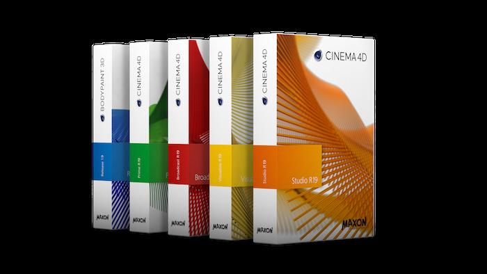 MAXON Cinema 4D R19 + keygen (FULL),Maxon CINEMA 4D Studio