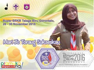 Raimuna Daerah II Gorontalo Tahun 2016