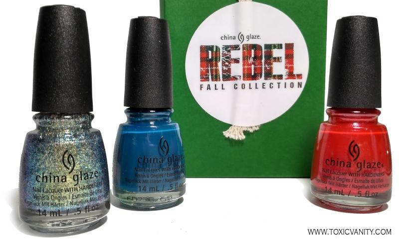 Rebel de China Glaze | Coleccion Otoño 2016 | Review y Swatches ...