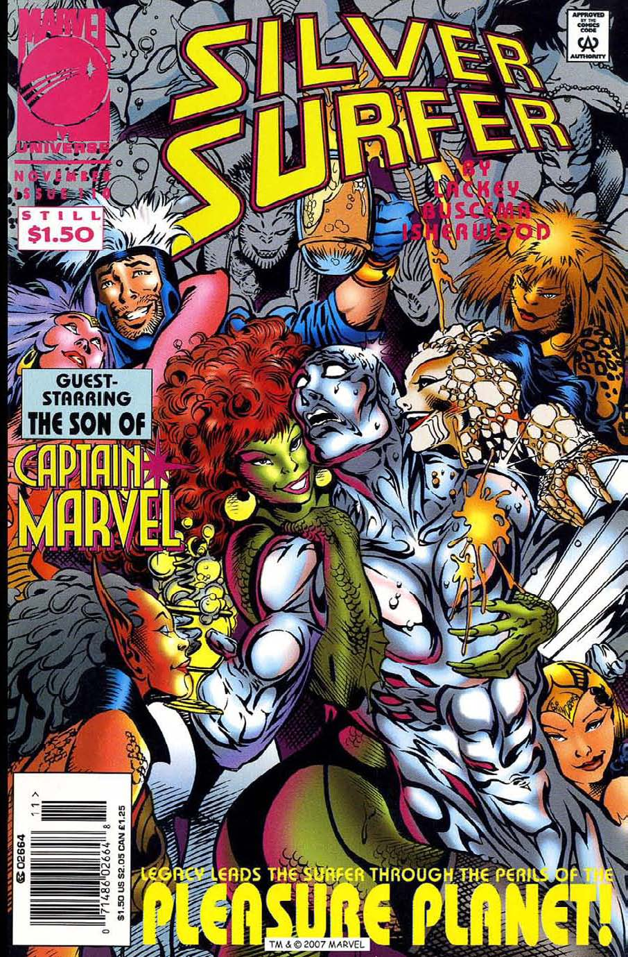 Read online Silver Surfer (1987) comic -  Issue #110 - 1
