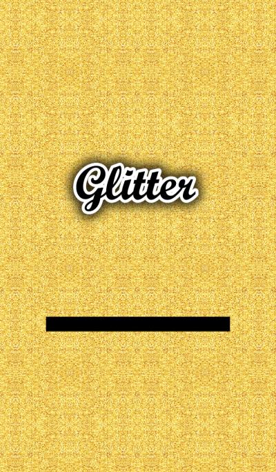 Glitter- Gold