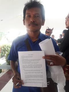 Warga Muba Ini Bagikan Surat Terbuka Ke Berbagai Pejabat