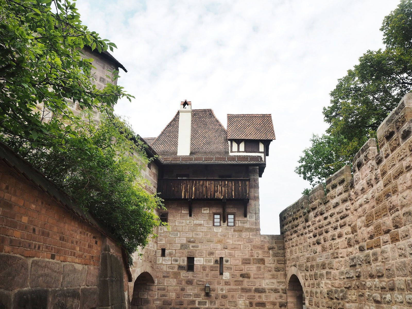 One day in Nuremberg - Nuremberg castle