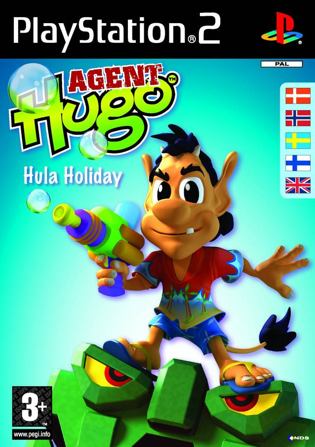Agent Hugo Hula Holiday PAL PS2