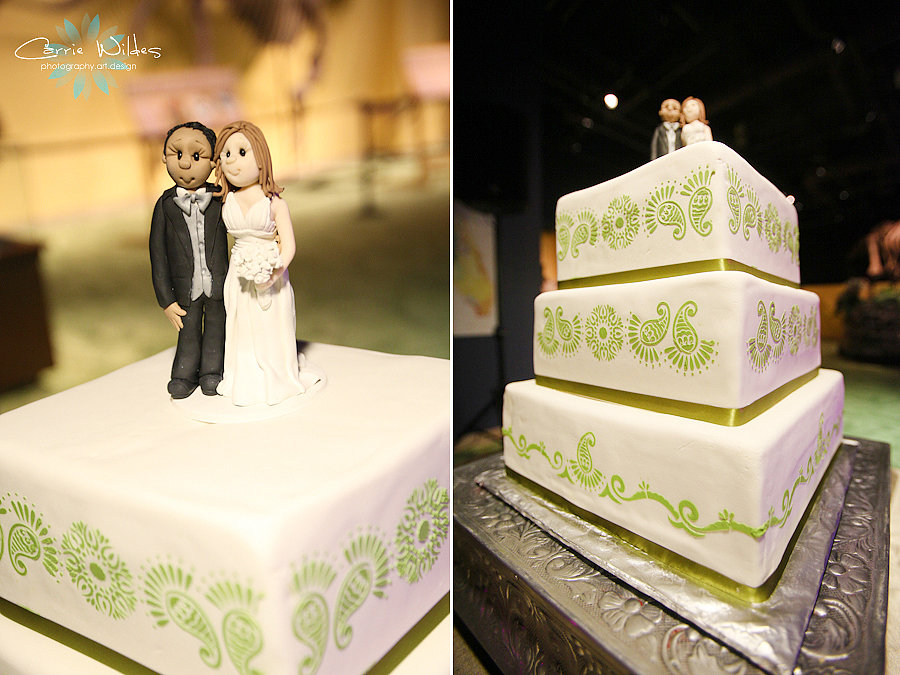 Biracial Cake Toppers