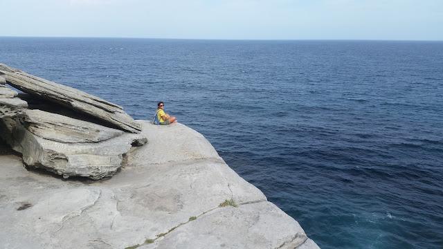 camminata Bondi to Coogee vista sull'oceano