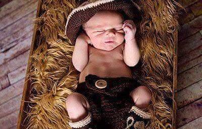 disfraz de vaquero tejido crochet