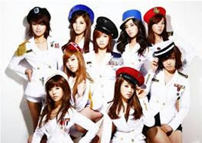 girl band korea dan gaya rambutnya