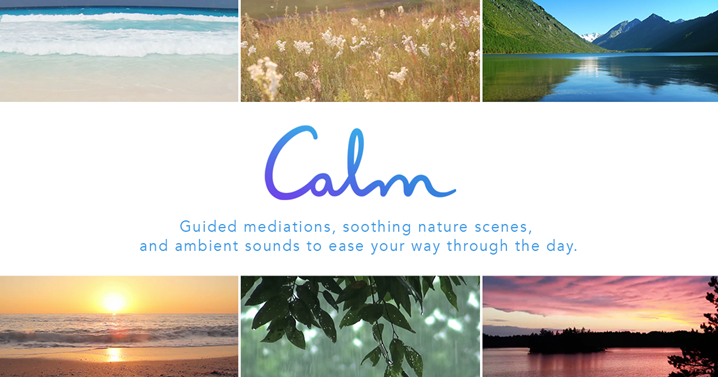 calm website