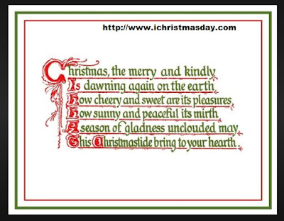 christmas poems that rhyme