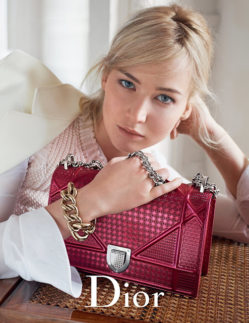 Actress, @ Mario Sorrenti for Christian Dior Handbags Spring Summer 2016