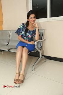 Actress Mouryani Stills in Short Dress at Janaki Ramudu Audio Launch  0220