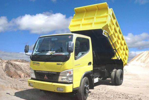 mitsubishi colt diesel dump truck 2019, kredit dp kecil dump truck 2019