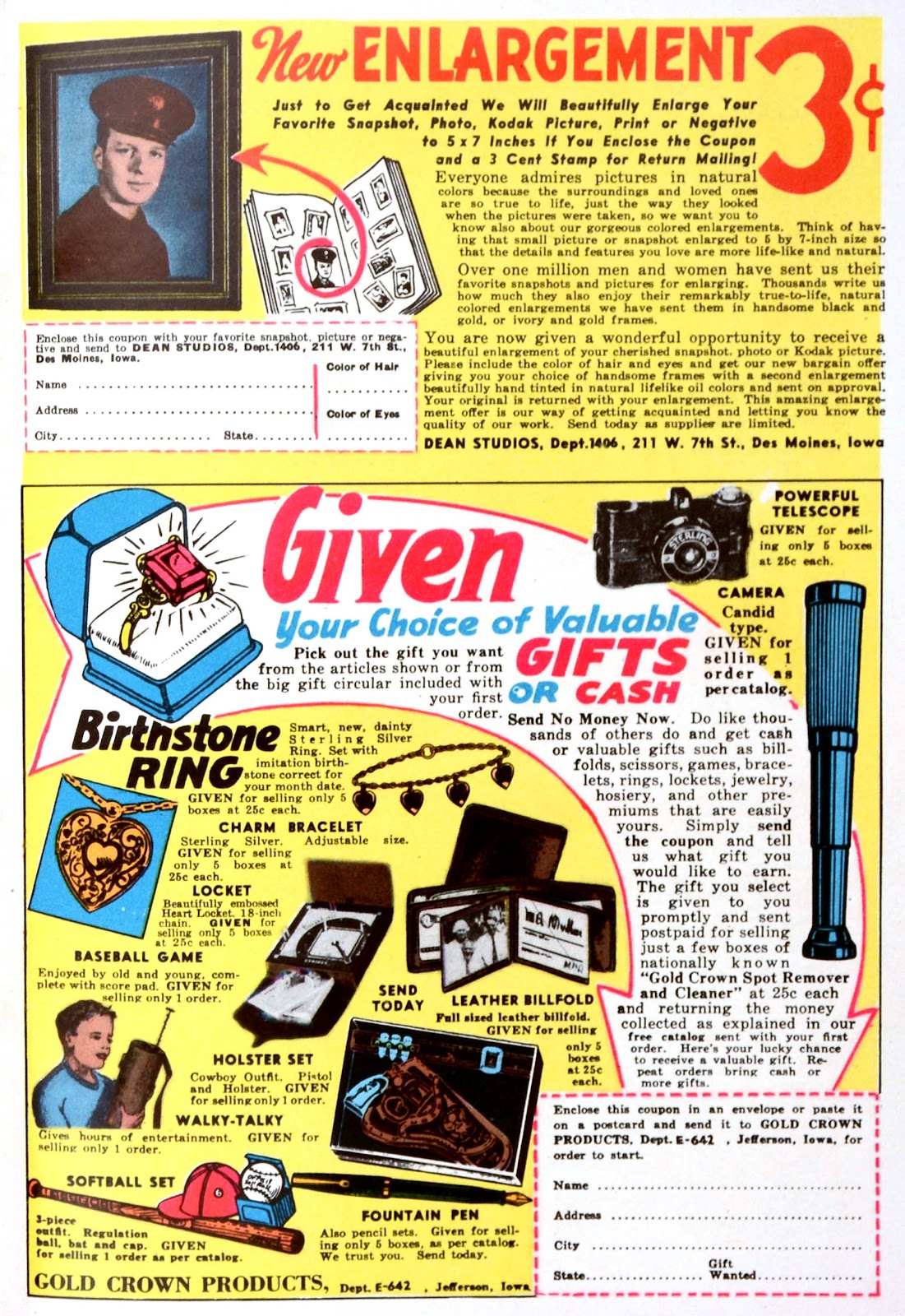 Read online Famous Funnies comic -  Issue #139 - 50