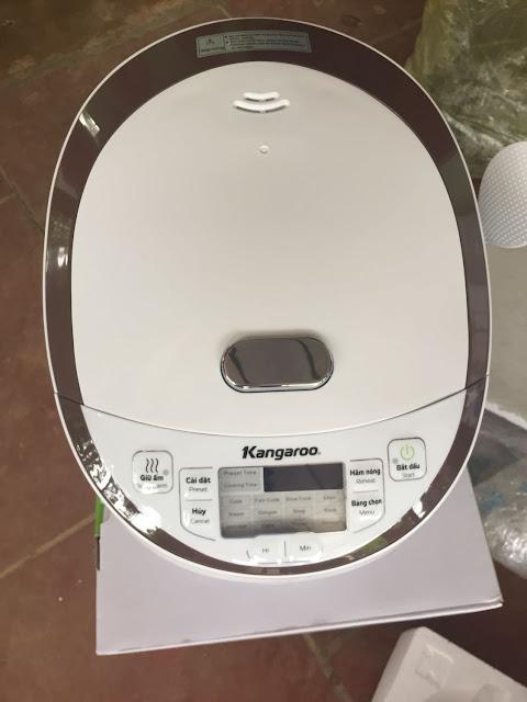 Đánh giá nồi cơm điện tử Kangaroo KG565 - 1.8L