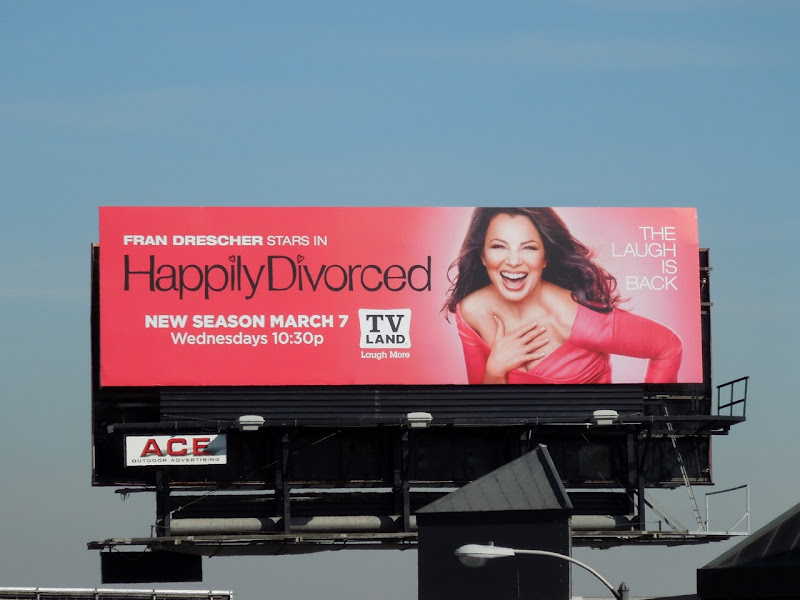 Happily Divorced 2 TV Land billboard