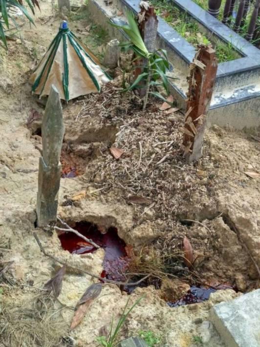 Misteri Fenomena Makam Berdarah di Kaltim Ini Mistis Atau Logis