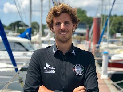 Tanguy Le Turquais nouveau skipper du Figaro 3 Quéguiner