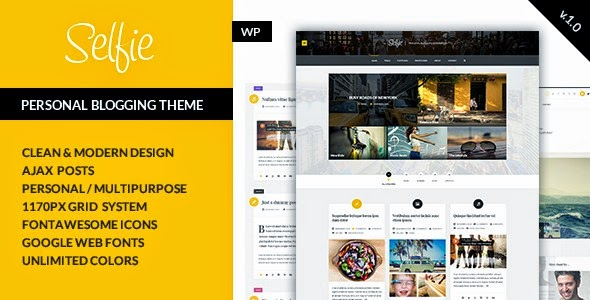 Responsive WordPress Blogging Theme 2015