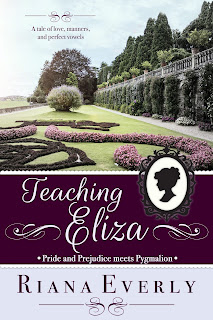 Book Cover: Teaching Eliza by Riana Everly