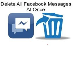 How To Delete All Facebook Messages At Once
