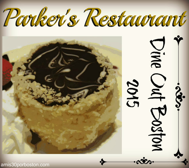Dine Out Boston Agosto 2015: Parker's Restaurant
