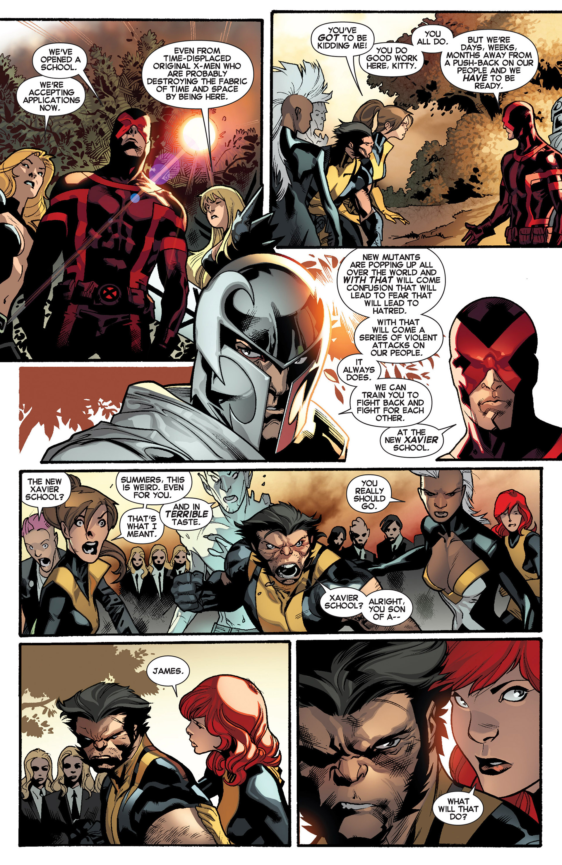Read online All-New X-Men (2013) comic -  Issue #10 - 11