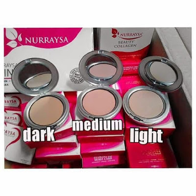 NURRAYSA BEDAK GLOWING DD MOIST CAKE