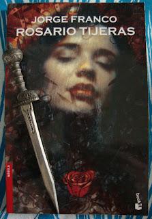 Portada del libro Rosario Tijeras, de Jorge Franco