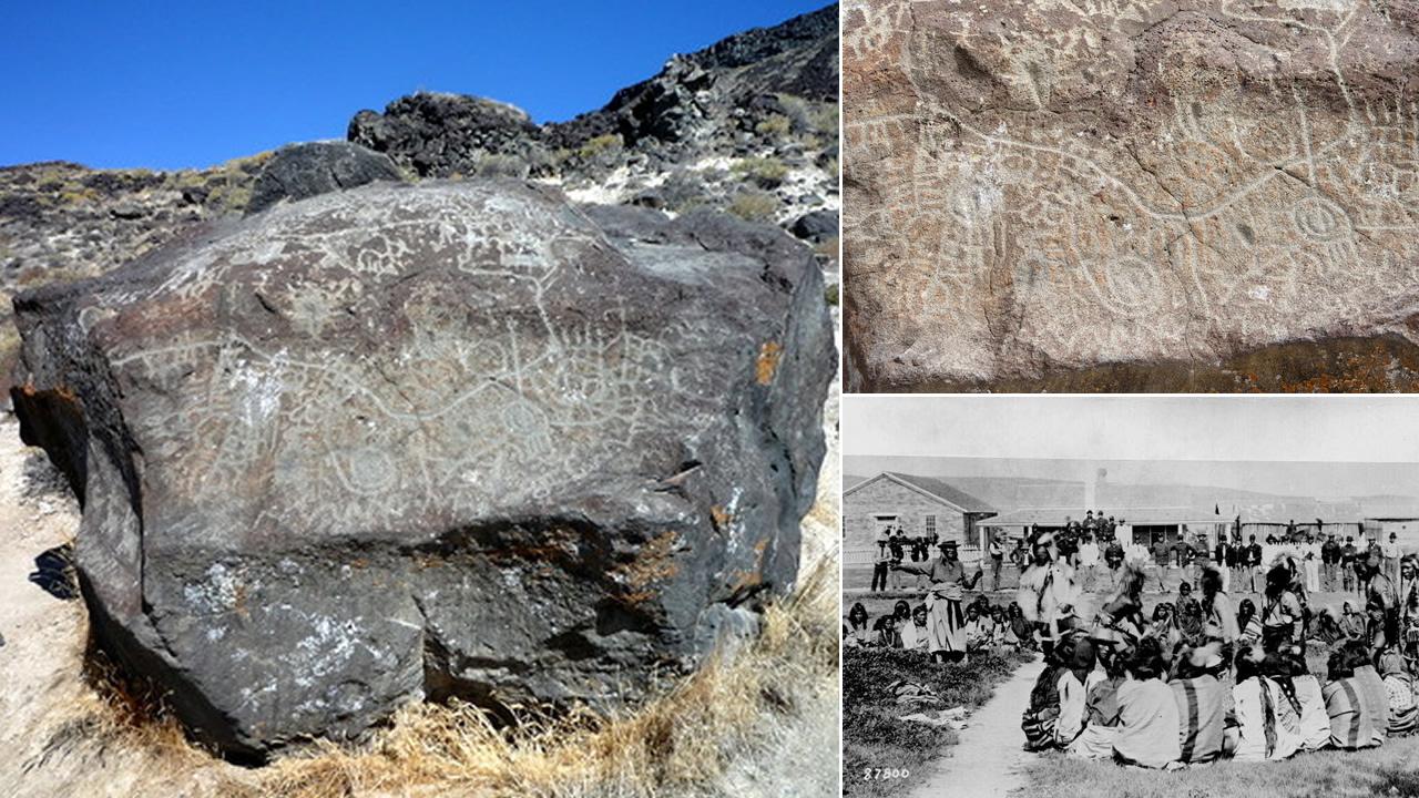 Map Rock, un petroglifo con un mapa prehistórico de hace 12.000 años