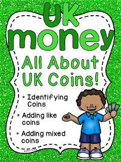 UK coins money unit with so many money and counting coins activities for GBP coins