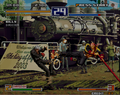 Ultra Rom the king of fighters 2003 - Screenshot 03