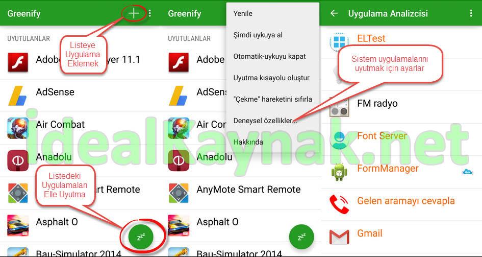Android Kalıcı Görev Sonlandırma - Batarya Süresini Uzatma