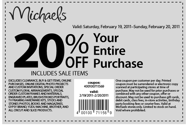 Michaels Canada Coupon Codes website view Michaels is the largest specialty retailer of arts, crafts, framing, floral, wall decor, scrapbooking and much more. It offers various art and craft items and supplies for different occasions like weddings, parties, home décor, etc.