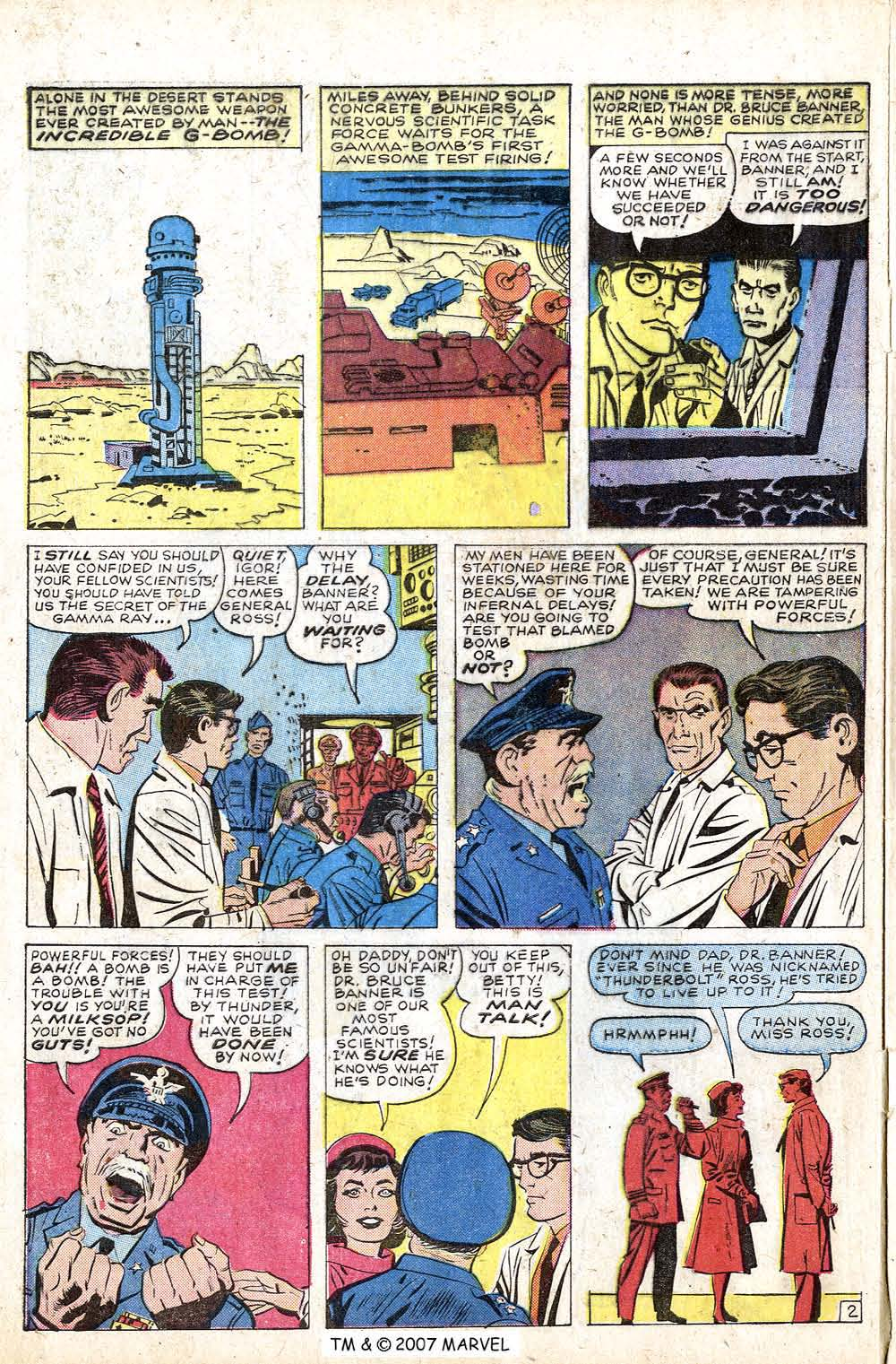The Incredible Hulk (1962) issue 1 - Page 4