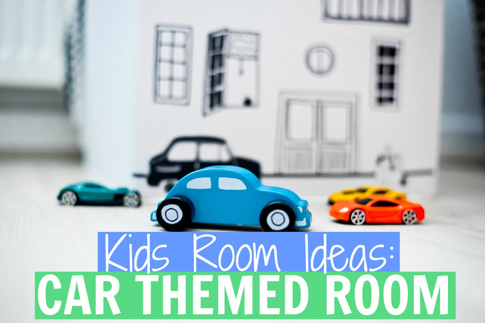car bedroom, car themed room, kids car room