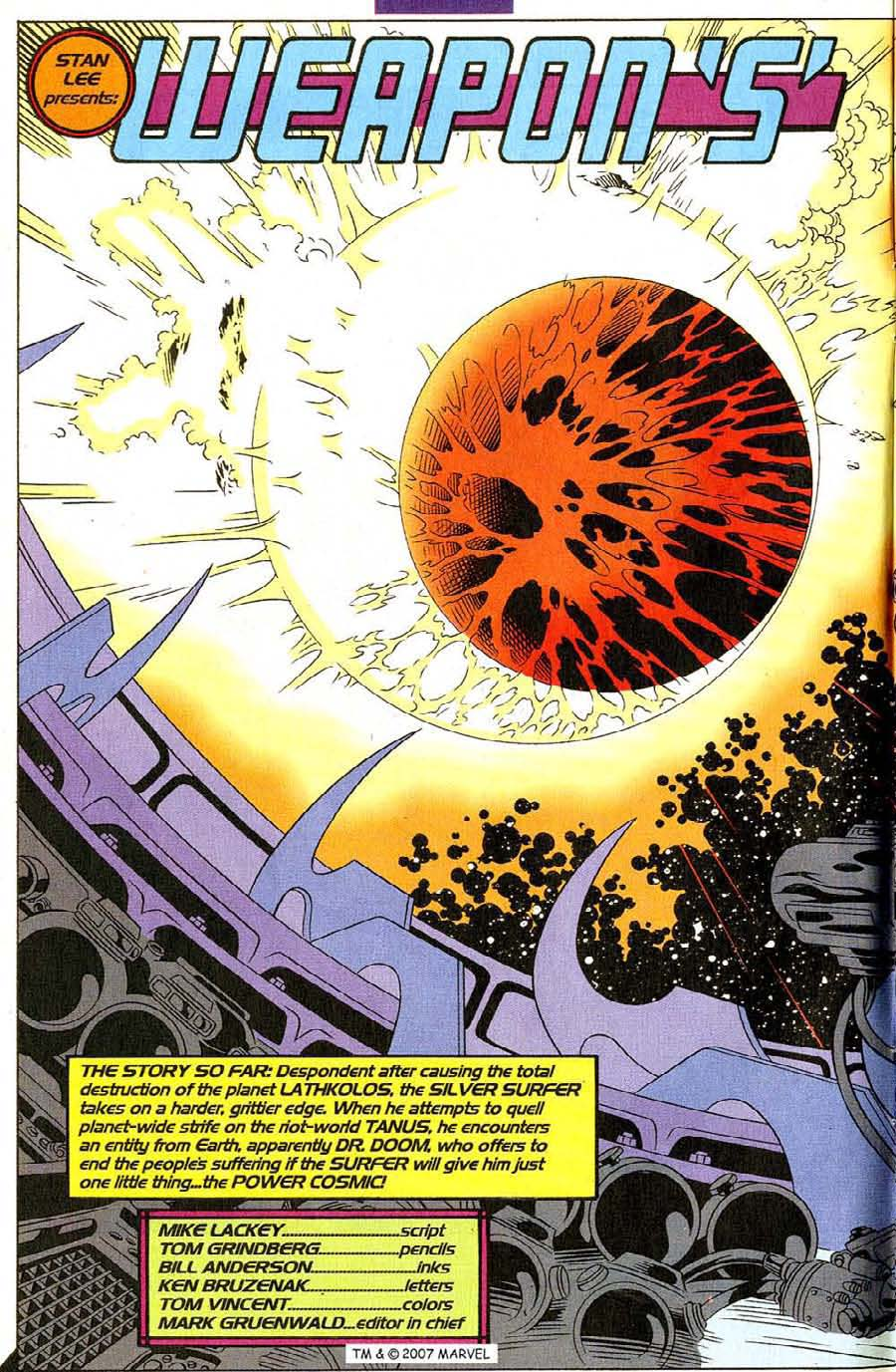 Read online Silver Surfer (1987) comic -  Issue #107 - 4