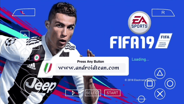 FIFA 19 PPSSPP Camera PS4 | PPSSPP Android