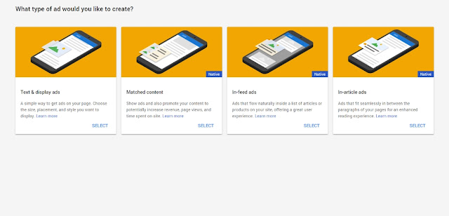 Requirements for getting Ads (Matched Content) from Google Adsense