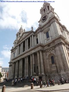 Fachada principal de la catedral de San Pablo