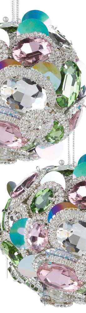 Harrods Embellished Diamanté Bauble