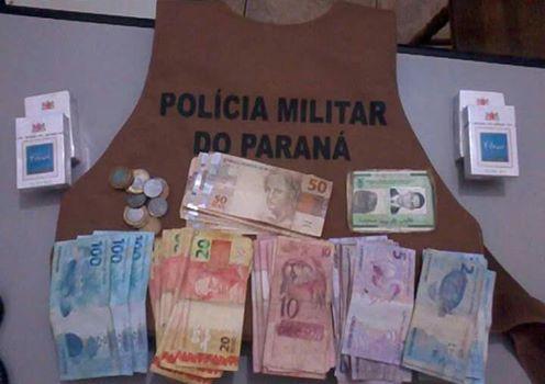 PM de Roncador prende elementos passando dinheiro falso